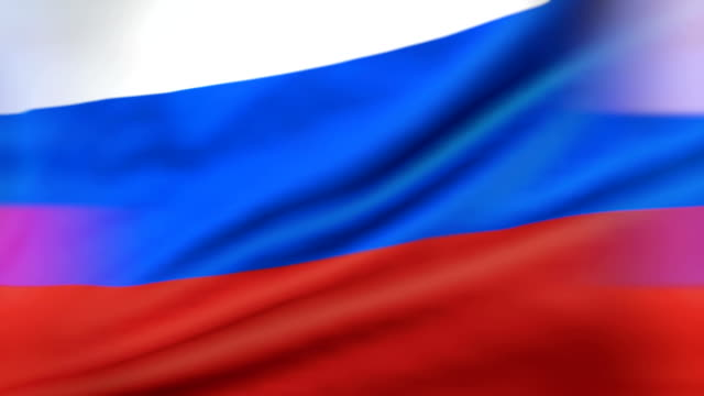 Russian Flag Loopable video