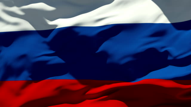 russian flag - russia stock videos & royalty-free footage