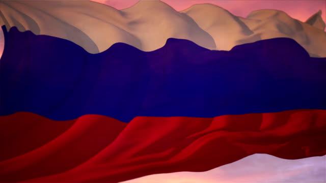 vídeos y material grabado en eventos de stock de bandera rusa - ruso europeo oriental
