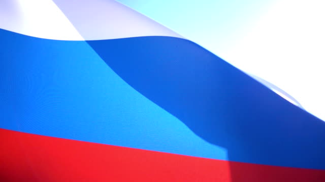ロシアのフラグ - 東ヨーロッパ民族点の映像素材/bロール