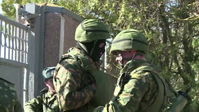russian forces partly seized two ukrainian missile defence units in crimea on wednesday ukrainian defence ministry officials told afp insisting that... - kharkov stock videos & royalty-free footage