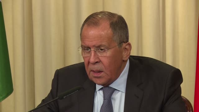 Russian Foreign Minister Sergei Lavrov declares at a press conference This [Idlib] is the last major hotbed of terrorists From every point of view...
