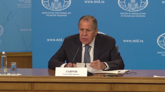 Russian Foreign Minister Sergei Lavrov repeatedly attacked the US in an annual press conference Monday accusing Washington of issuing ultimatums and...