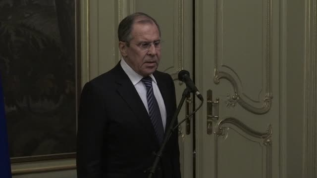 russian foreign minister sergei lavrov says moscow would expel 60 us diplomats and close its consulate in saint petersburg in a tit for tat expulsion... - sergei skripal stock videos and b-roll footage