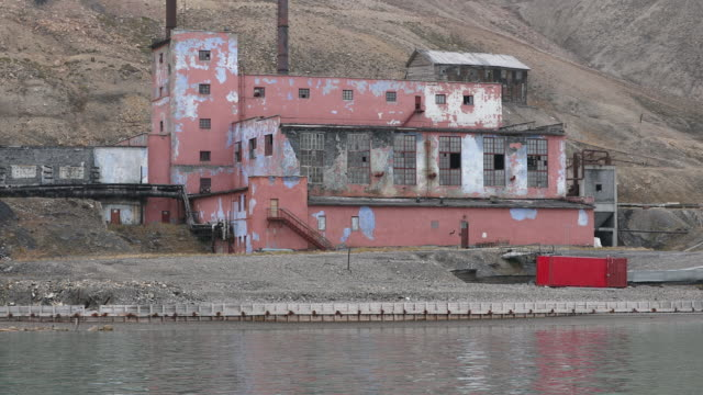 Russian Ghost Town of Pyramiden