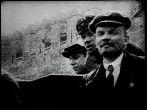 vídeos y material grabado en eventos de stock de russian leader vladimir lenin dies in 1924 - lenín