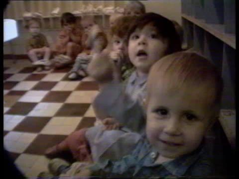vídeos y material grabado en eventos de stock de russian orphans in uk russian tms children in orphanage tx fed cms children sitting on potties itn tms children in beds tms ditto cms ditto - orfanato