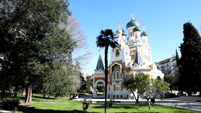 Catedral ortodoxa rusa en Niza, Francia