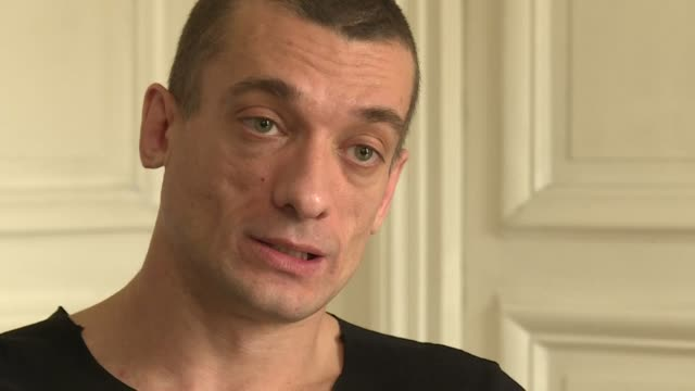 russian performance artist pyotr pavlensky insists he must defend his source after a sex video showing french president emmanuel macron's candidate... - benjamin griveaux stock videos & royalty-free footage