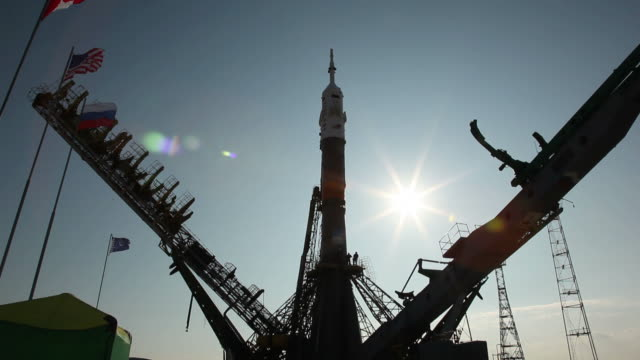 russian  rocket - rocket stock videos & royalty-free footage