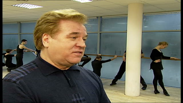 russian winter festival planned in london vladimir zakharov interview over following shots sot work with our own traditional russian style / our... - anmut stock-videos und b-roll-filmmaterial