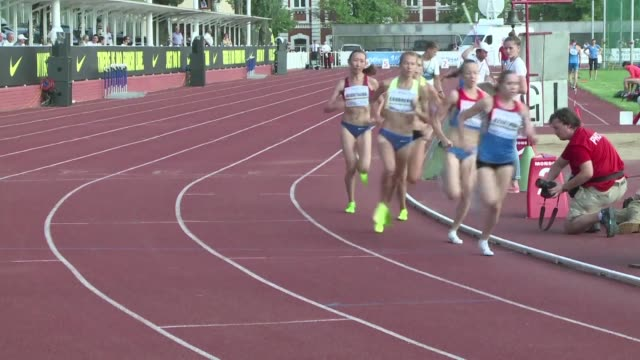 Russias athletics federation holds a track and field competition for the athletes who have been banned from the Rio Olympics over evidence of...