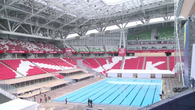 Russia's prosperous republic of Tatarstan east of Moscow is preparing to hold two upcoming major sporting events