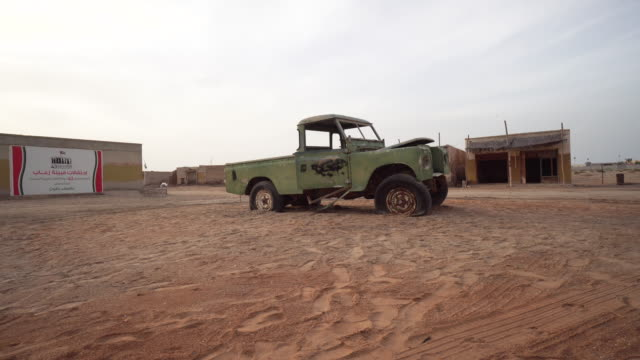 Rusted truck in Ras al-Khaimah, 360