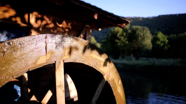 rustic watermill - mill stock videos & royalty-free footage