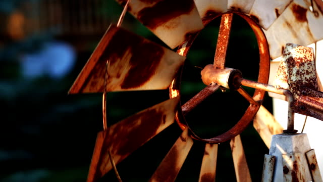 rusty windmill - weathered stock videos and b-roll footage