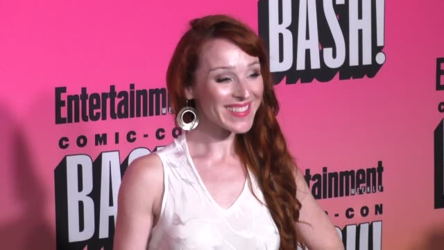 Ruth Connell at the Entertainment Weekly San Diego Comic Con Party