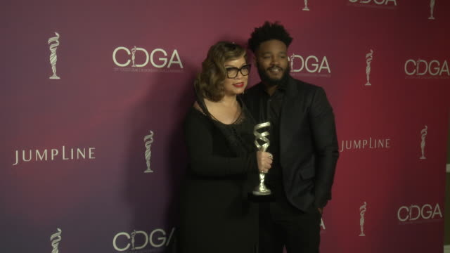ruth e carter ryan coogler at 21st cdga in los angeles ca - ryan coogler stock videos and b-roll footage