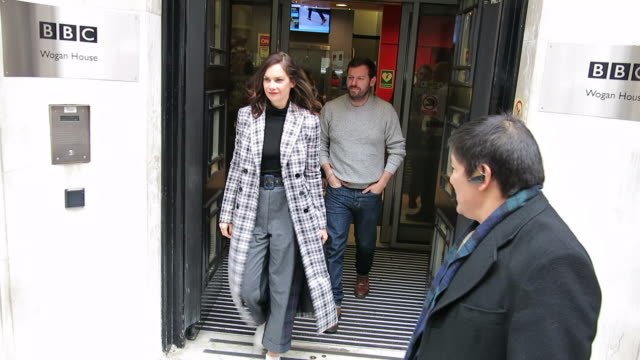 Ruth Wilson at BBC Radio 2 at Celebrity Sightings in London on November 26 2018 in London England