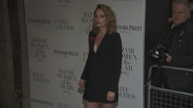 Ruth Wilson at Harper's Bazaar Women of the Year Awards at Claridge's Hotel on November 03 2015 in London England