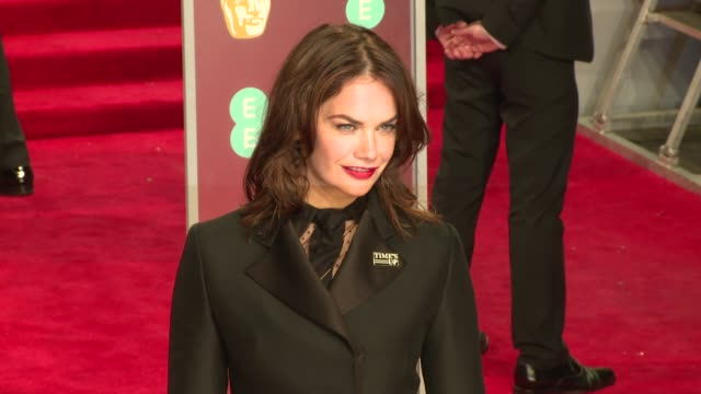 ruth wilson at royal albert hall on february 18 2018 in london england - time's up social movement stock videos and b-roll footage