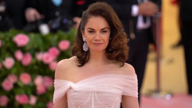 Ruth Wilson at The 2019 Met Gala Celebrating Camp Notes on Fashion Arrivals at Metropolitan Museum of Art on May 06 2019 in New York City
