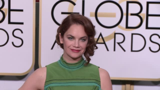 Ruth Wilson at the 72nd Annual Golden Globe Awards Arrivals at The Beverly Hilton Hotel on January 11 2015 in Beverly Hills California