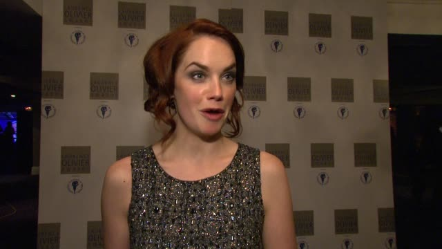 Ruth Wilson on being numb about receiving the award on Rachel Weisz winning her award on what she will do with the award at the 2010 Laurence Olivier...