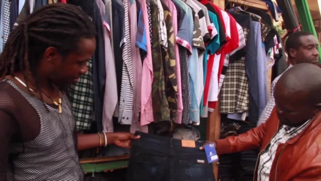 Rwanda is facing an on going trade war on second hand clothing