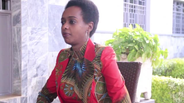 rwanda is like a prison with paul kagame its imperious warden according to diane rwigara a young politician who sought to challenge for the... - diane rwigara stock videos and b-roll footage