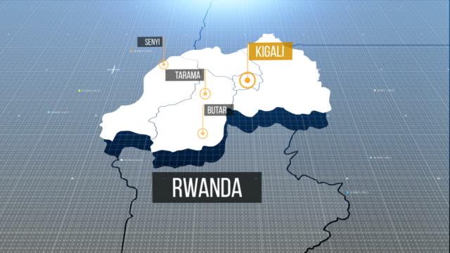 rwanda map - war crimes trial stock videos & royalty-free footage