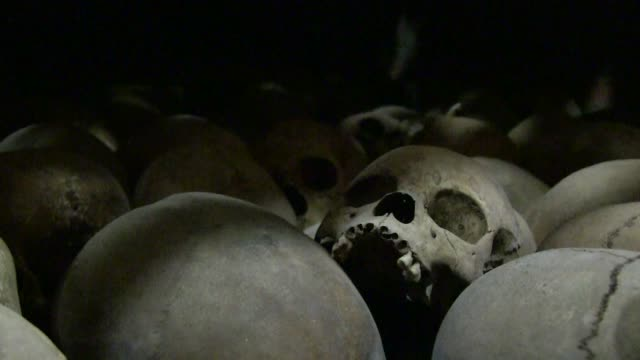 rwanda said wednesday that frances declassification of documents relating to the 1994 genocide will shed light on unanswered questions over the mass... - genocide stock videos & royalty-free footage