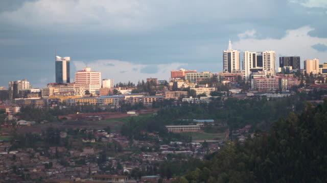 ルワンダの首都キガリ - キガリ点の映像素材/bロール