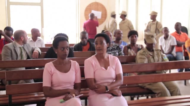 a rwandan court found dissident politician diane rwigara not guilty of forgery and inciting insurrection charges that saw her imprisoned for over a... - diane rwigara stock videos and b-roll footage