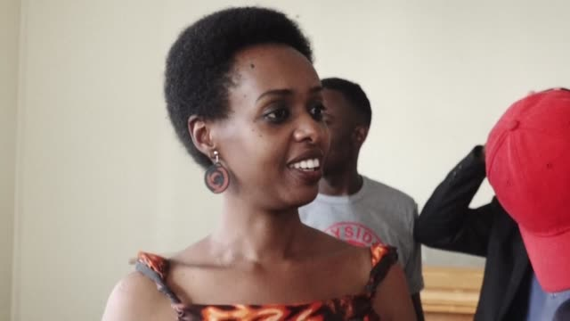 rwandan opposition leader diane rwigara critic of president paul kagame is a free woman after being acquitted of inciting insurrection and falsifying... - diane rwigara stock videos and b-roll footage