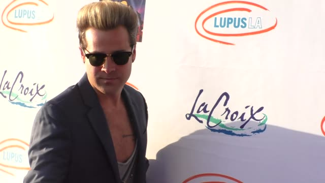 ryan cabrera at the lupus la orange ball a night of superheroes at fox studios in los angeles at celebrity sightings in los angeles on may 07 2016 in... - lupus la orange ball video stock e b–roll
