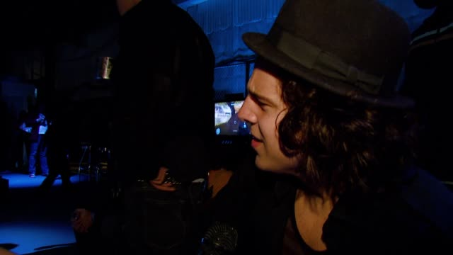 ryan cabrera on playing halo 3 what he likes most about the game if he feels like a hero playing the game xbox promo at the xbox 360® halo 3 sneak... - xbox video stock e b–roll