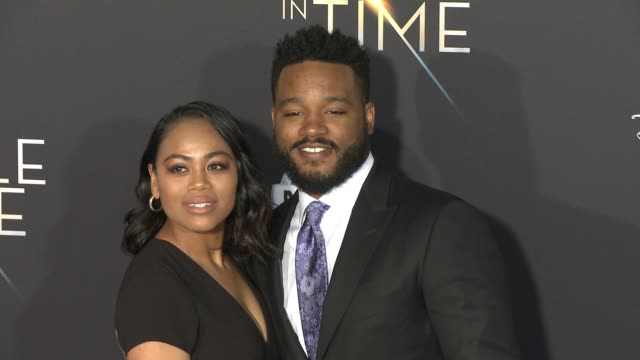ryan coogler at the a wrinkle in time world premiere at the el capitan theatre on february 26 2018 in hollywood california - ryan coogler stock videos and b-roll footage
