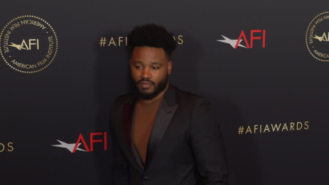 ryan coogler at the afi awards 2018 at four seasons hotel los angeles at beverly hills on january 04 2019 in beverly hills california - ryan coogler stock videos and b-roll footage