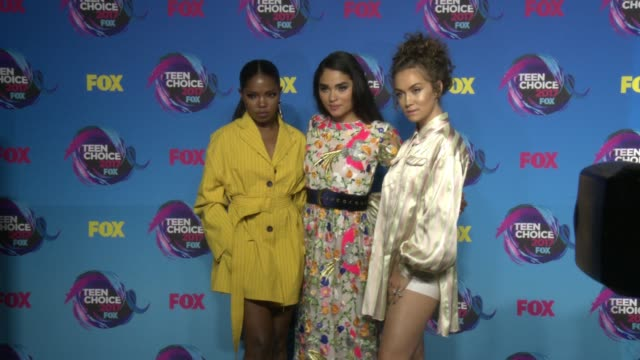 Ryan Destiny Brittany O'Grady Jude Demorest at Teen Choice Awards 2017 in Los Angeles CA