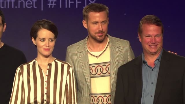 Ryan Gosling and director Damien Chazelle whose 2016 musical La La Land won six Oscars team up again in First Man which chronicles the story of Neil...