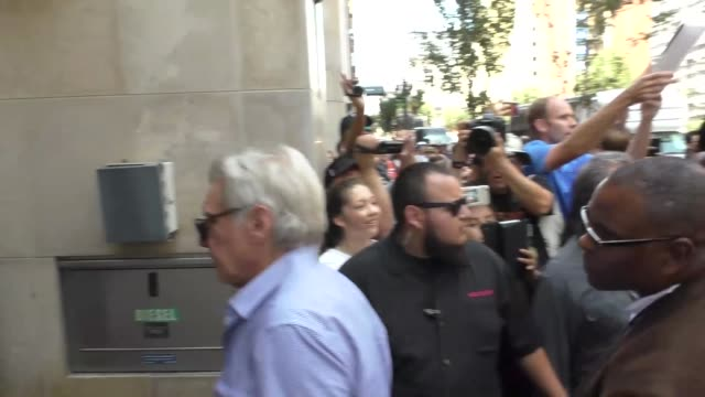 ryan gosling and harrison ford at celebrity sightings at san diego comiccon international on july 22 2017 in san diego california - ryan gosling stock videos and b-roll footage