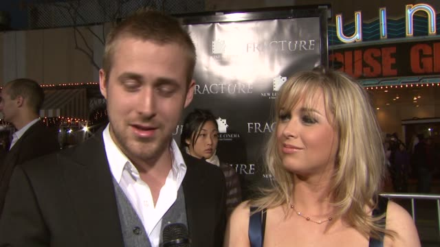ryan gosling and sister what frame of mind he was in when he chose role why he chose to work on this film joked about his plans on marriage at the... - ryan gosling stock videos and b-roll footage