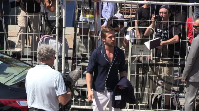 ryan gosling arrives at the 'drive' photocall in cannes 05/20/11 - ryan gosling stock videos & royalty-free footage