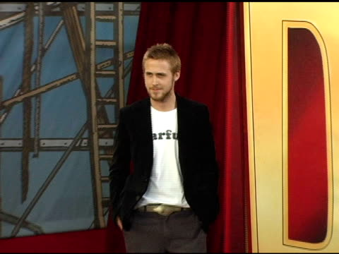 ryan gosling at the 2005 mtv movie awards arrivals at the shrine auditorium in los angeles, california on june 4, 2005. - ryan gosling stock videos & royalty-free footage