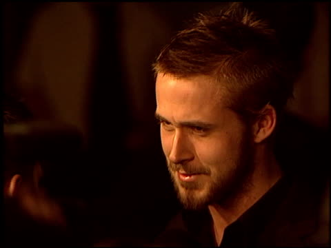 ryan gosling at the premiere of 'the united states of leland' at arclight cinemas in hollywood california on march 29 2004 - ryan gosling stock videos and b-roll footage