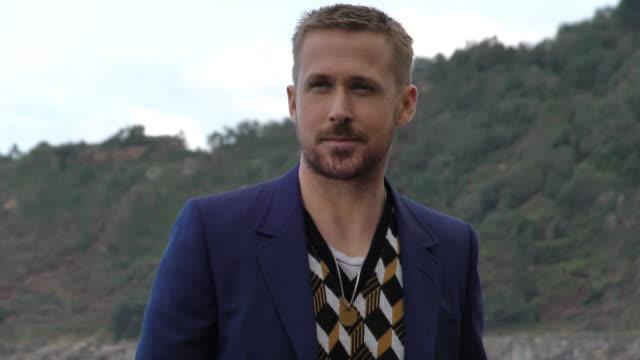 ryan gosling attends the 'firt man' photocall during the 66th san sebastian film festival in san sebastian spain on september 24 2018 - ryan gosling stock videos and b-roll footage