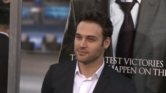 ryan guzman at draft day los angeles premiere at regency village theatre on april 07 2014 in westwood california - regency village theater stock videos and b-roll footage