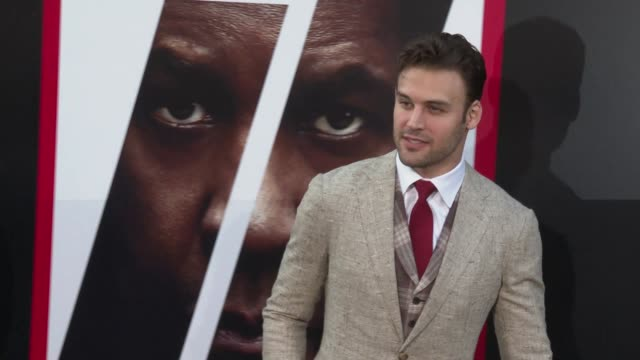 Ryan Guzman at the 'The Equalizer 2' Premiere at TCL Chinese Theatre on July 17 2018 in Hollywood California