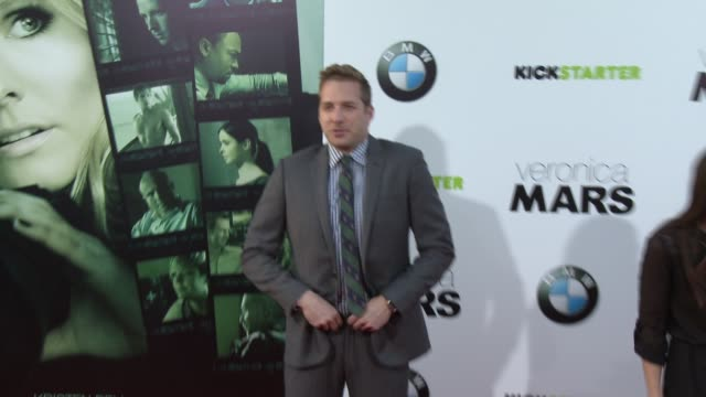 ryan hansen at veronica mars los angeles premiere at tcl chinese theatre on march 12 2014 in hollywood california - tcl chinese theatre stock videos & royalty-free footage
